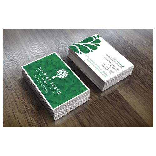 Cartões de visita Prime UV Total - 4x4